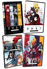 RWBY: Complete Anime TV Series Seasons Volumes 1 2 3 4 Box / DVD Set(s) NEW!