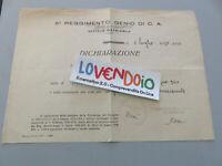 """5° Régiment Génie De c. A. """" Impervia Cedant """" Document 1940"""