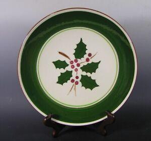 """Vintage STANGL Plate, Holly Design, 10 1/8"""""""