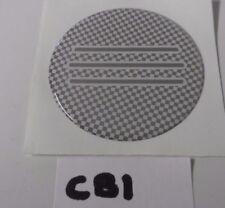 Coachman caravan 60mm circular badge for wheel centre cap or dent cover up CB1