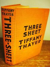 THREE SHEET Tiffany Thayer RARE Erotica CLASSIC Illustrated