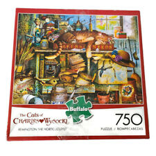 """The Cats of Charles Wysocki """"Remington the Horticulturist"""" 750 Piece Puzzle"""
