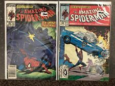 The Amazing Spider-Man #305-306, Marvel Comics, 306 is a Superman Cover Swap