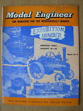 THE MODEL ENGINEER VINTAGE MAGAZINE AUGUST 17th 1961 EXHIBITION NUMBER