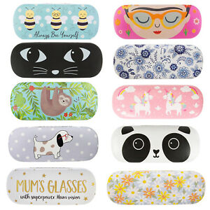 Sass & Belle JD Puckator Lua Hard Glasses Spectacle Case Snap Shut
