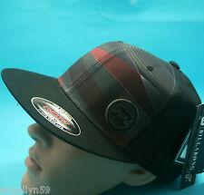 BILLABONG MENS FLEXFIT CAP Surf Skate Beach Black Skate Hat Sm - Medium New