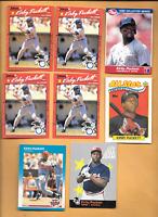 1990 Donruss #683 Kirby Puckett Errors 4 & 4 K. Puckett Twins Baseball Cards