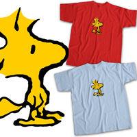 Peanuts Woodstock Bird Charlie Brown Snoopy Mens Womens Kids Unisex Tee T-Shirt