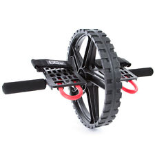 66fit™ Power Wheel - Abdominal and Core Exercise Roller Workout