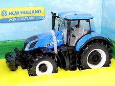 New Holland Agriculture Tractor T7HD 1:32 Scale Die-cast Model Toy New Bburago