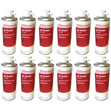 12 x Compressed Air Duster Spray Can Laptop Keyboard Dust Blower Cleaner 400ml