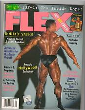 FLEX Bodybuilding Muscle Magazine DORIAN YATES/ Lenda Murray 1-96