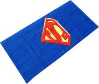 Superman Shield Beach Towel 100% Cotton