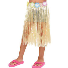 12 X Hawaïen Naturelle Long Jupe D'Herbe Enfant Taille