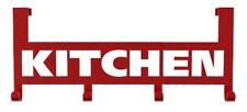 Türhakenleiste Kitchen - zum Einhängen an der Tür, Metall, 25.5 x 4.5 x 10.9 cm,
