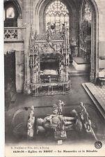 BF16128 eglise de brou le mausolee et le retable  france  front/back image