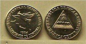 NICARAGUA  1994  5 CENTAVOS  KM80  UNCIRCULATED COIN