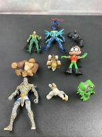 Lot Of 10 Mixed Action Figures.  Spiderman And Others