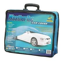 Car Cover Fits Small Sedans to 4.06m WeatherTec UV Protection Soft Non Scratch