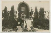 1921, RP Kab.-AK POTSDAM-SANSSOUCI – Aufbahrung der KAISERIN im Antiken Tempel