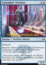 4x Lotuspfad-Dschinn (Lotus Path Djinn) Fate Reforged Magic