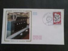 FRANCE 1974, FDC 1° JOUR, JOURNEE TIMBRE, MACHINE POSTALE A TRIER, VF