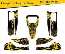 Go-kart stickers, Karting -adesivi, kleber- template for Tony Kart OTK M6 2015