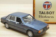NOREV JH4665 1:43 Modellauto Talbot Solara in blau metallic von 1980 NEU in OVP