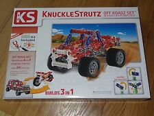 KnuckleStrutz Off Roadz Building Construction Toy Set 4x4 Truck Bike Crusher