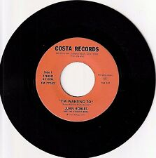 "JUAN ROBLES & Vasquez Bros. 7"" Rare 70's SoCal Private Latin Pop Rock Huapango"