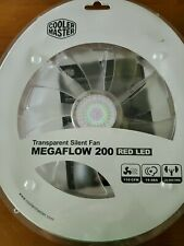 Cooler Master MegaFlow 200 Computer case Fan Red Led