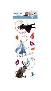 Disney FROZEN 2 Peel & Stick 9 Wall Decals Girls Room Decor Elsa Anna Stickers