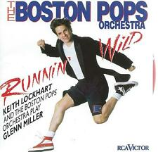 JAZZ CD album - BOSTON POPS play GLENN MILLER  - RUNNIN' WILD  ( x X x)