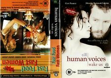 TILL HUMAN VOICES WAKE US/FAST FOO -VHS-Time Coded-Video dealer Preview tape-PAL