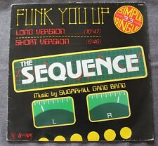 The Sequence, funk you up, Maxi Vinyl