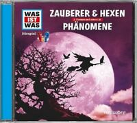 WAS IST WAS - FOLGE 30: ZAUBERER & HEXEN/PHÄNOMENE  CD NEU