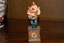 Efteling Holland Gnome Letter G Guitar Statue The Laaf Collection 1998 Ltd Ed