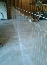 "18' X 6' X 2"" SQ. SHTF  Survival Prepper Gill Net Gillnet Fish Trap"