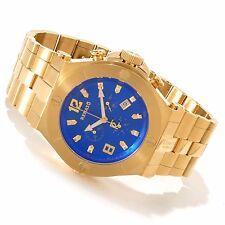 Renato 49mm Wilde-Beast Swiss Quartz Chronograph Gold Tone Bracelet Watch