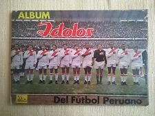 ALBUM STICKERS CHAMPIONSHIP FOOTBALL PERU 1969 100% FULL IMP. PERUANOS PERU EDIT
