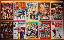 True Believers #1 Comic Book Lot (10 Avengers Related Reprints) NM Condition