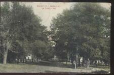 Postcard La CYGNE Kansas/KS  Walnut Street Family Houses/Homes 1907