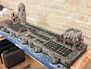 LOTR Lord of the Rings Painted Scenic Base Diorama WOTR Gondor LOTR 28 mm Scale