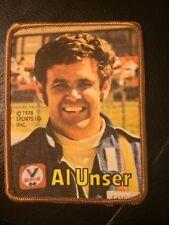 Vintage 1978 Sports I.D. Inc. Al Unser Full Color Patch