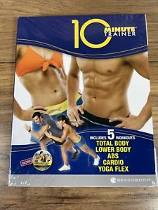 Beachbody 10 Minute Trainer 5 Workout DVD Series