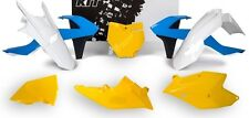 New Blue White Yellow Plastic Body Kit KTM 125 150 250 350 450 SX XC EXC SXF