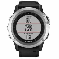 Garmin fenix 3 HR Silver GPS Multisport Watch with Black Band 010-01338-0L