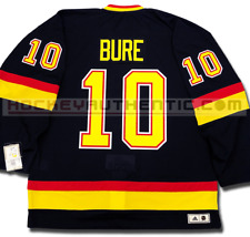 PAVEL BURE VANCOUVER CANUCKS 1994 BLACK SKATE ADIDAS TEAM CLASSICS NHL JERSEY