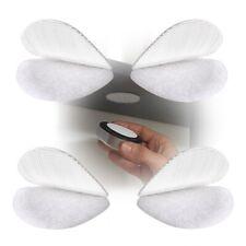 Alfatex ® suministrados por velcro ® 21mm Lunares Blanco Auto Adhesivo Monedas X 100 Pares