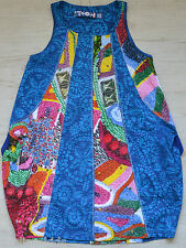 DESIGUAL GIRLS KLEID VEST DRESS GABERONES 71V32A3 NEU Gr. 122 / 128 / 7 / 8 Y